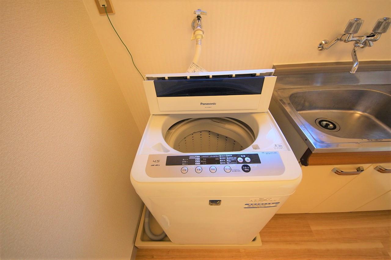 洗濯機で快適な生活を