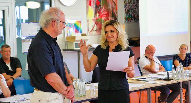 Kathrin Gross ist die neue, erste Beigeordnete der Gemeinde Kleinblittersdorf.