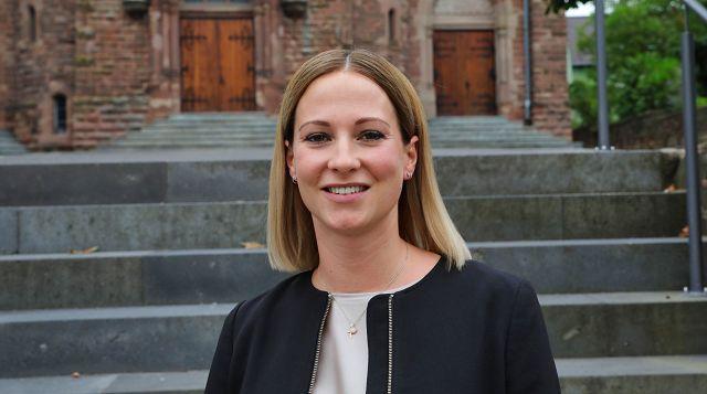 Die neue Ortsvorsteherin von Kleinblittersdorf Nadja Doberstein.