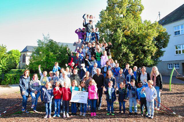 Die Grundschulkinder in Rilchingen-Hanweiler freuen sich über das erweiterte Sportangebot an ihrer Schule.