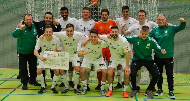Der SV Auersmacher hat das erste Hallenturnier des SV 19 Bübingen gewonnen.