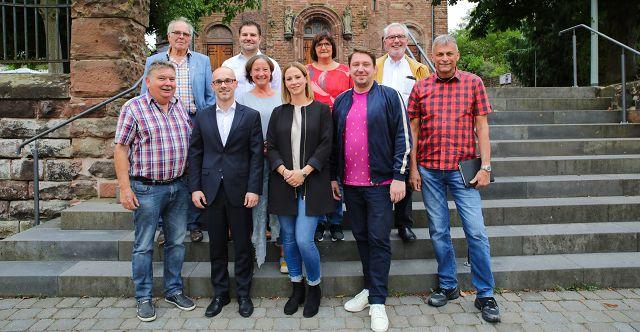 Der neue Ortsrat von Kleinblittersdorf.