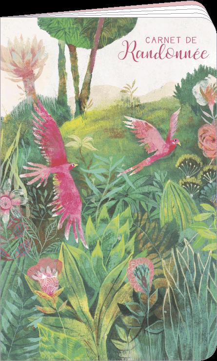 Carnet de randonnée illustré par Izou