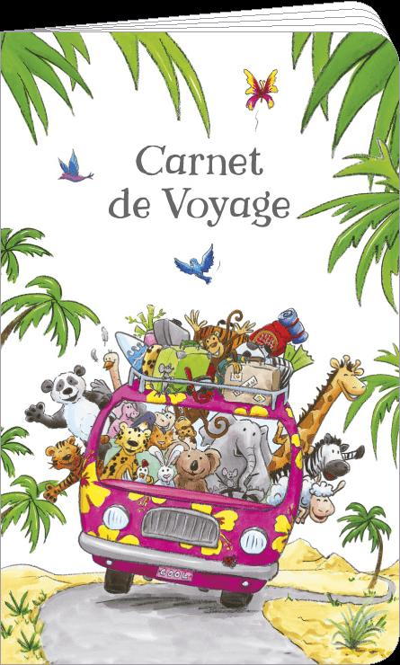 Carnet de voyage illustré par Sophie TURREL