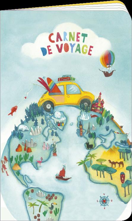 Carnet de voyage illustré par Mila