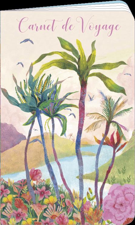 Carnet de voyage illustré par Izou