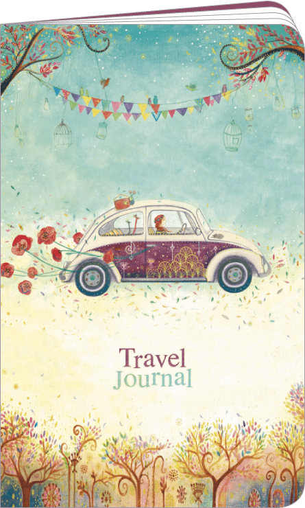 Blank pages notebook by Jehanne WEYMAN