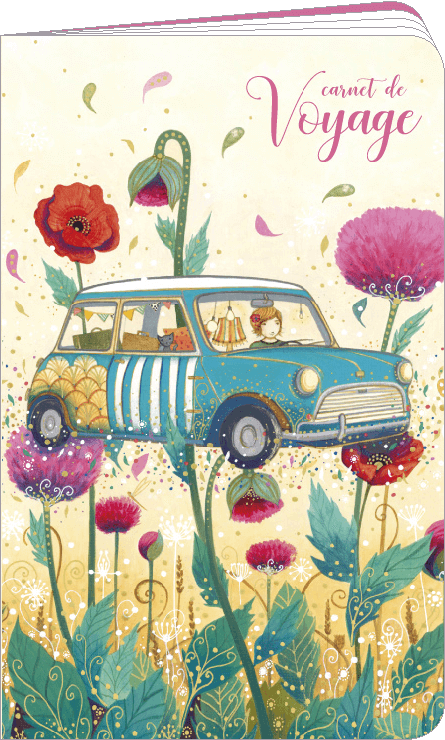 Carnet de voyage illustré par Jehanne WEYMAN
