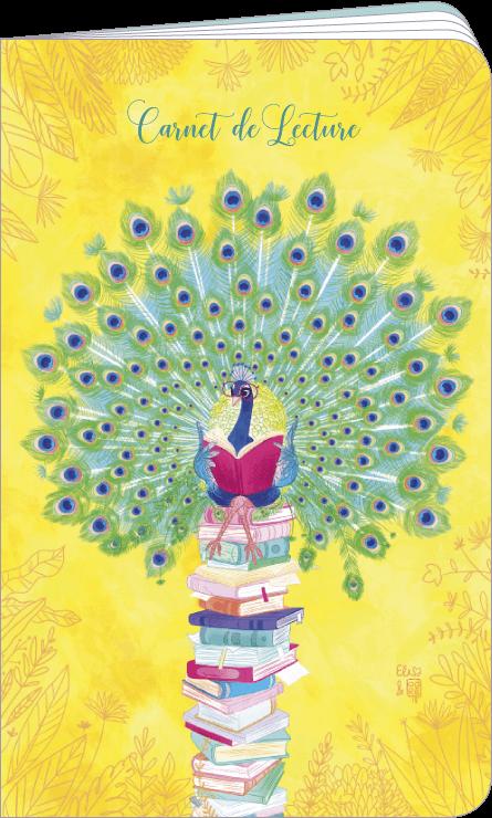 Carnet de lecture illustré par Audrey BUSSI et Elisa ROCHETAIN
