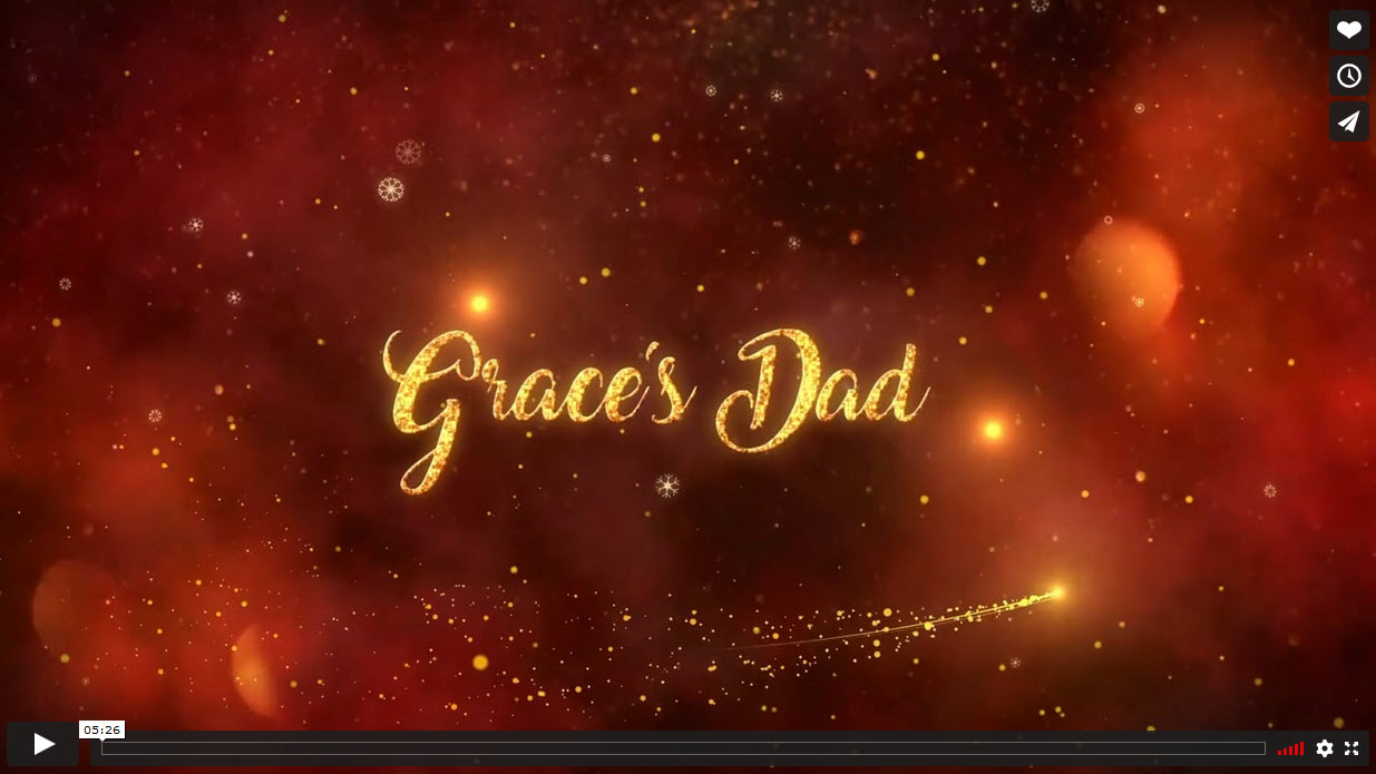 Grace's Dad, by Fiona Hunnisett