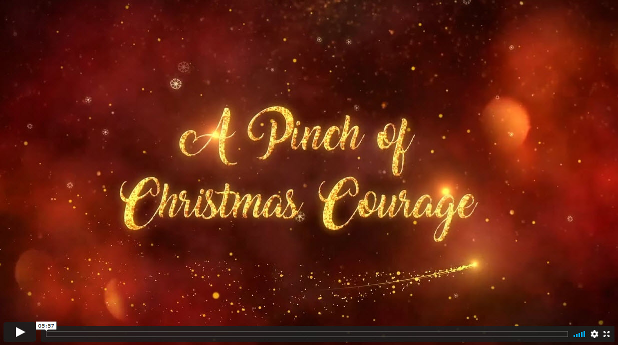 A Pinch of Christmas Courage, by Joëlle Edwards