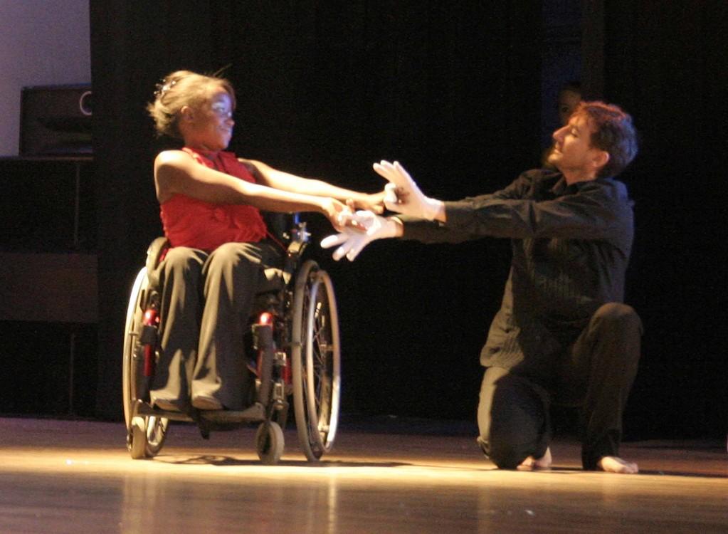 Chantal et José pour Orchesis.