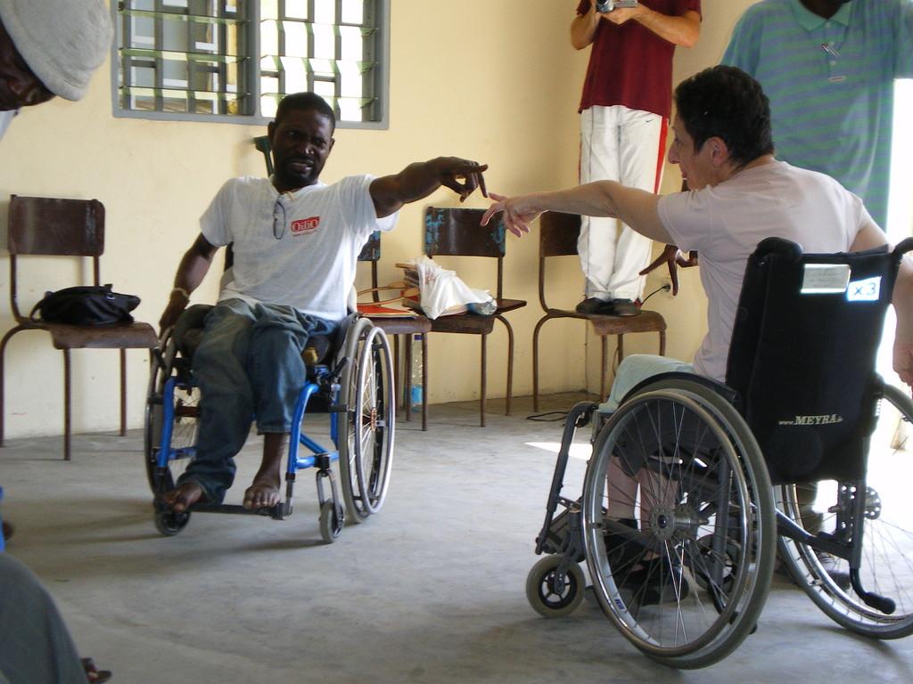 Serge et Antoinette à Douala, Cameroun.