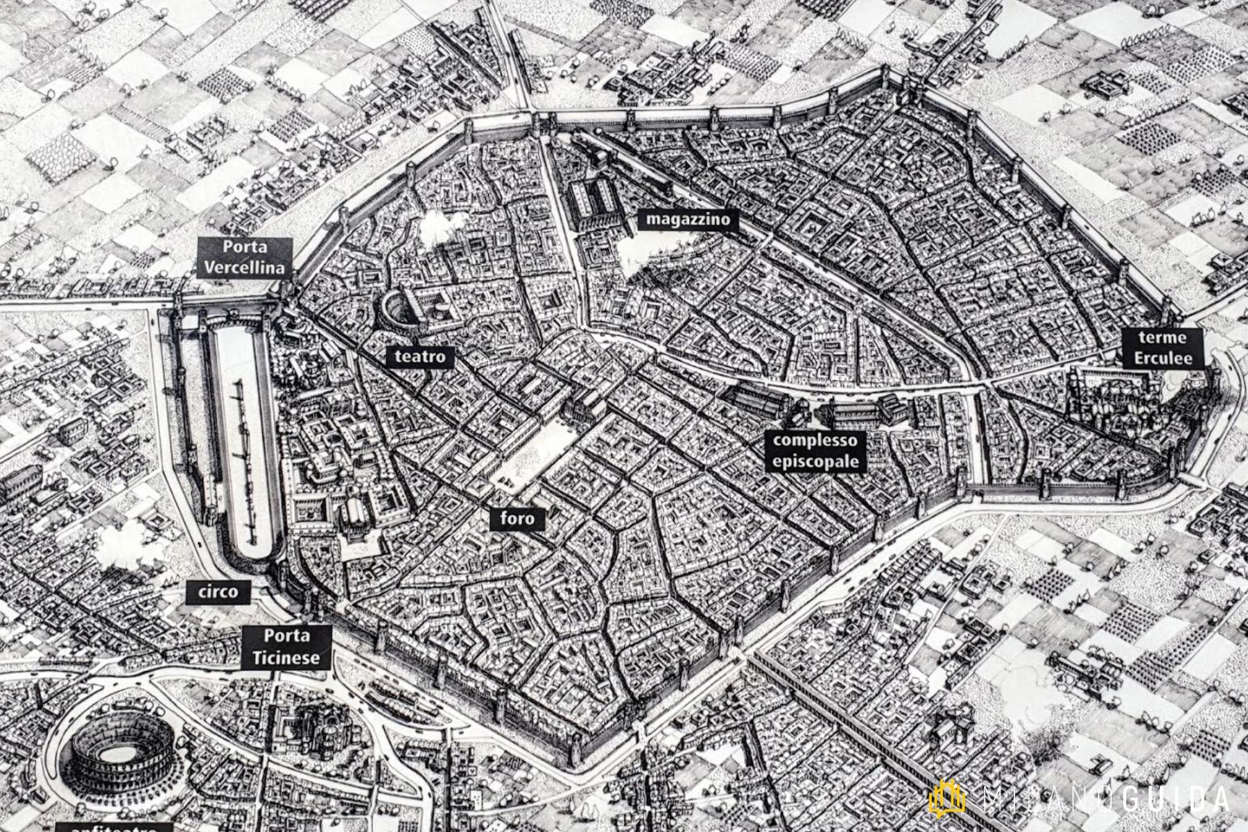 Visita guidata Milano romana
