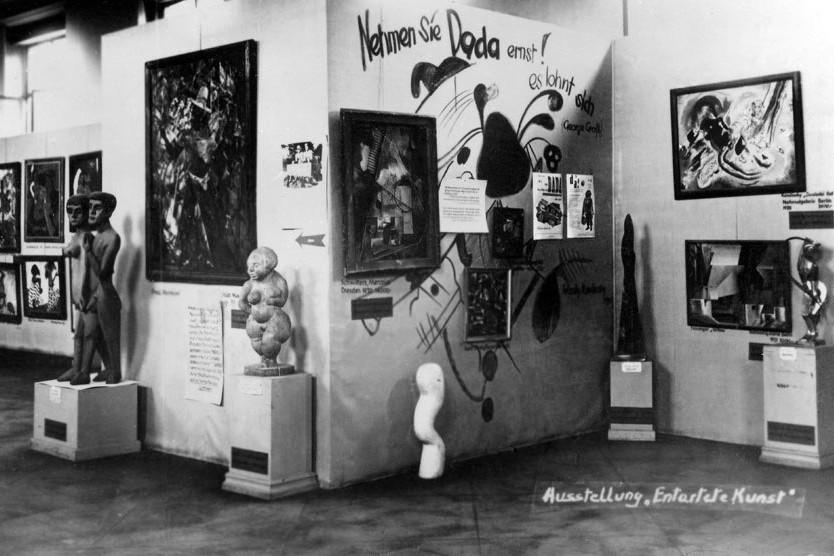 Connessioni Culturali: Arte degenerata e furto opere d'arte Nazisti