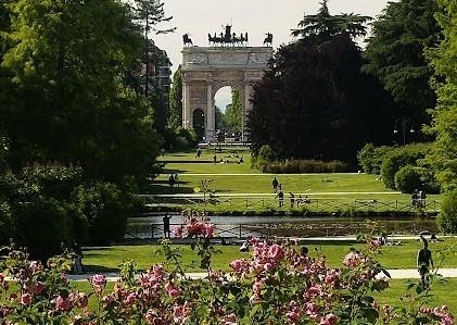 Visita guidata bicicletta Parco Sempione