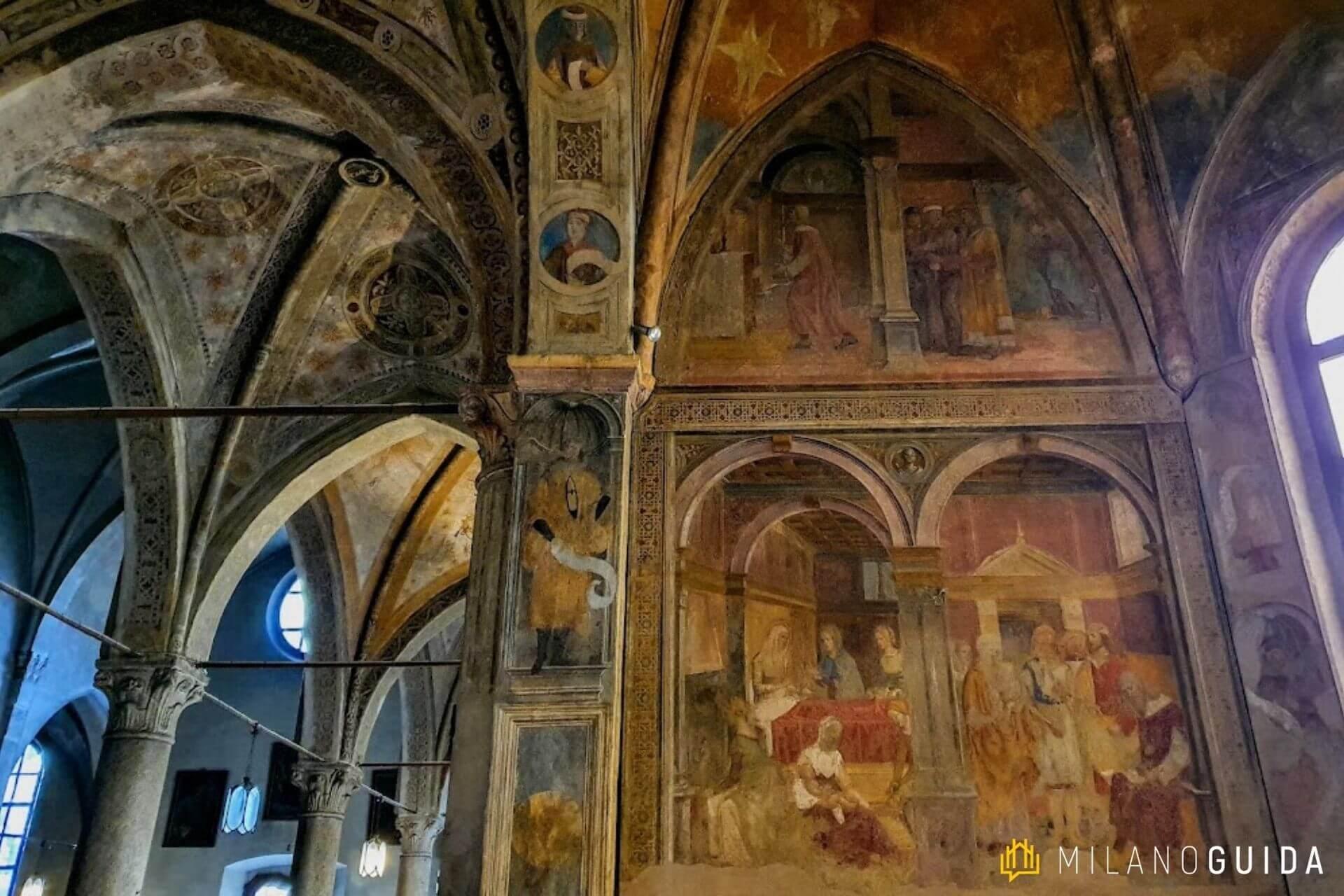 Visita guidata chiesa San Pietro in Gessate