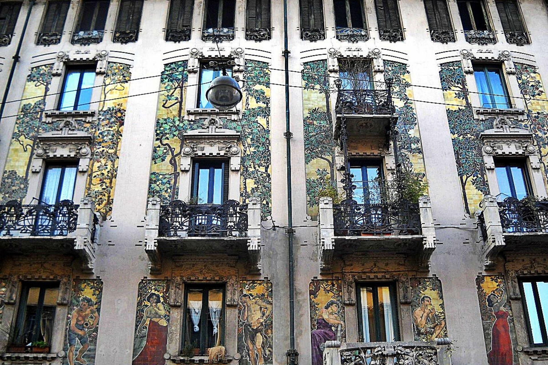 Visita guidata Milano liberty