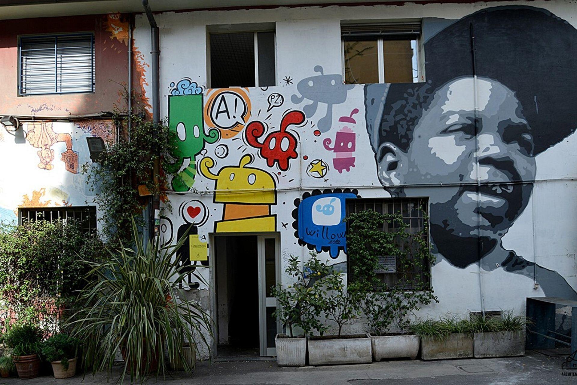 Visita guidata quartiere isola Milano street art
