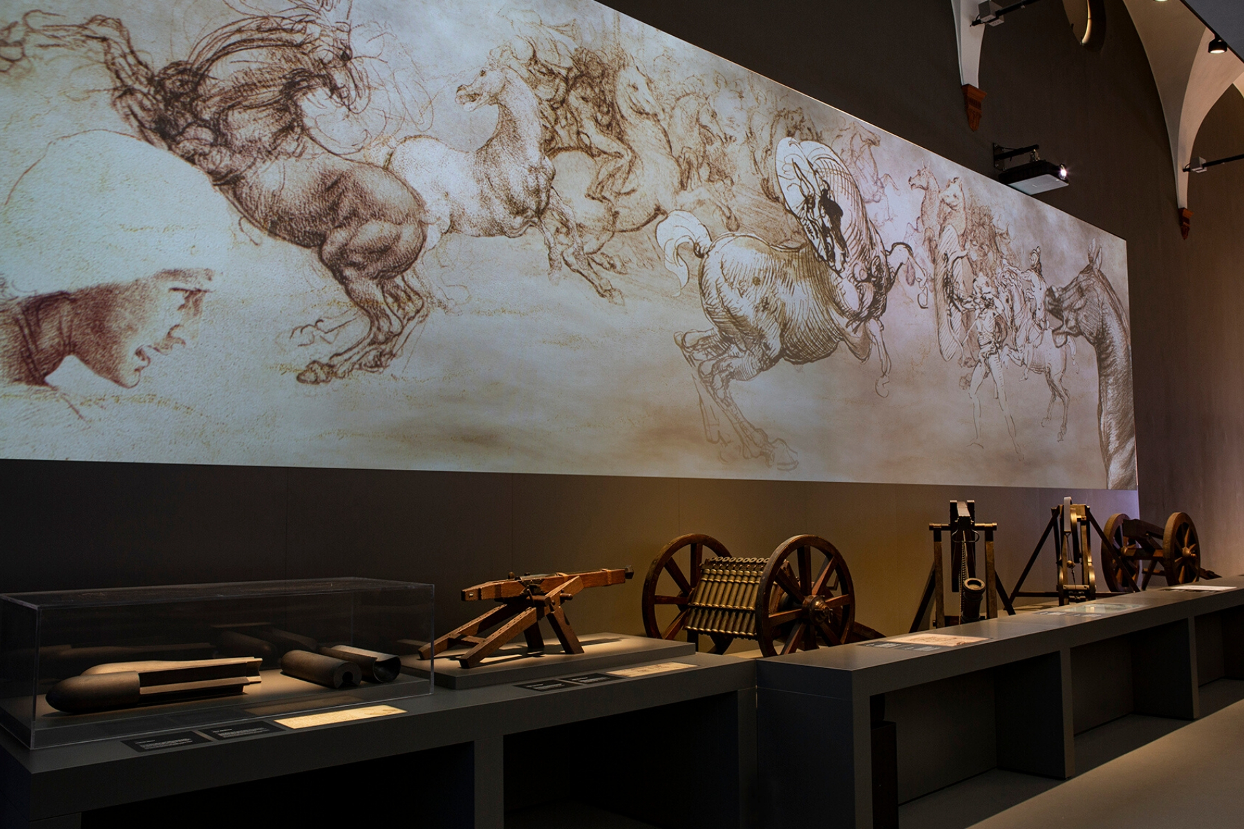 Galleria Leonardo Museo Scienza Milano