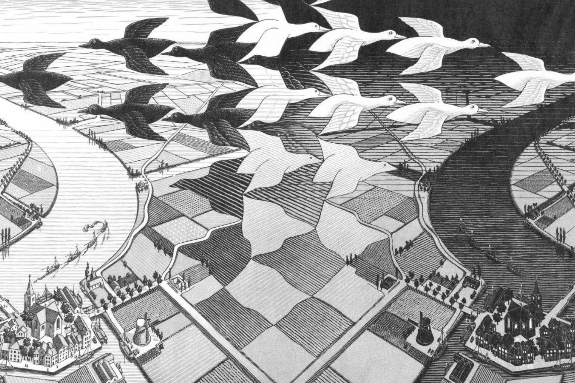 Mostra Escher a Milano