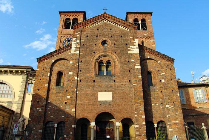 Cripta di Leonardo Milano San Sepolcro