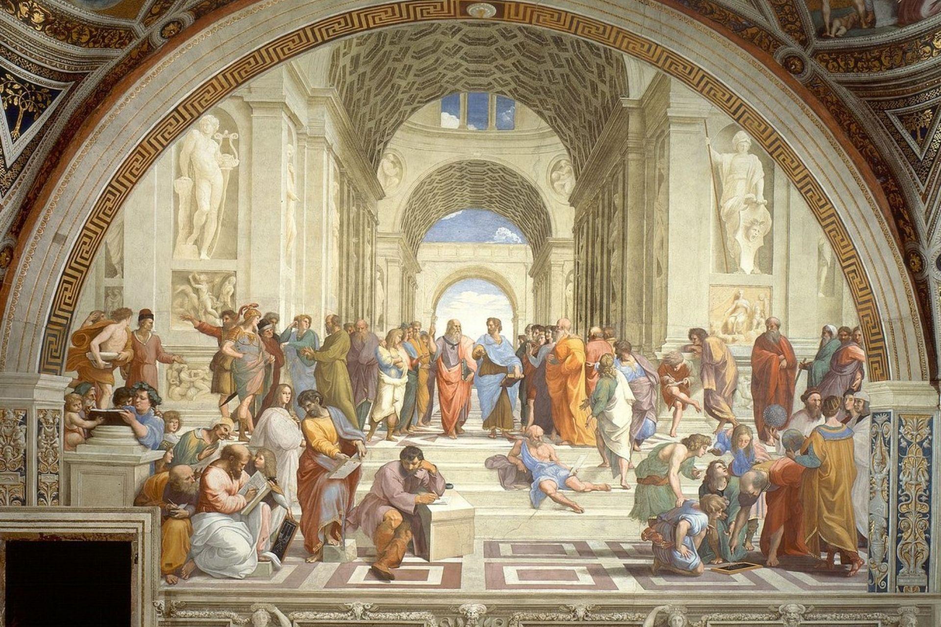 Il cartone di Raffaello Ambrosiana