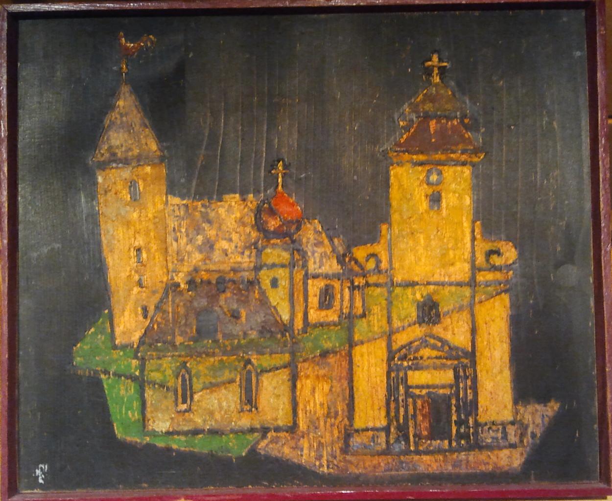 3 Kleine Kirchen, Wachsenkaustik