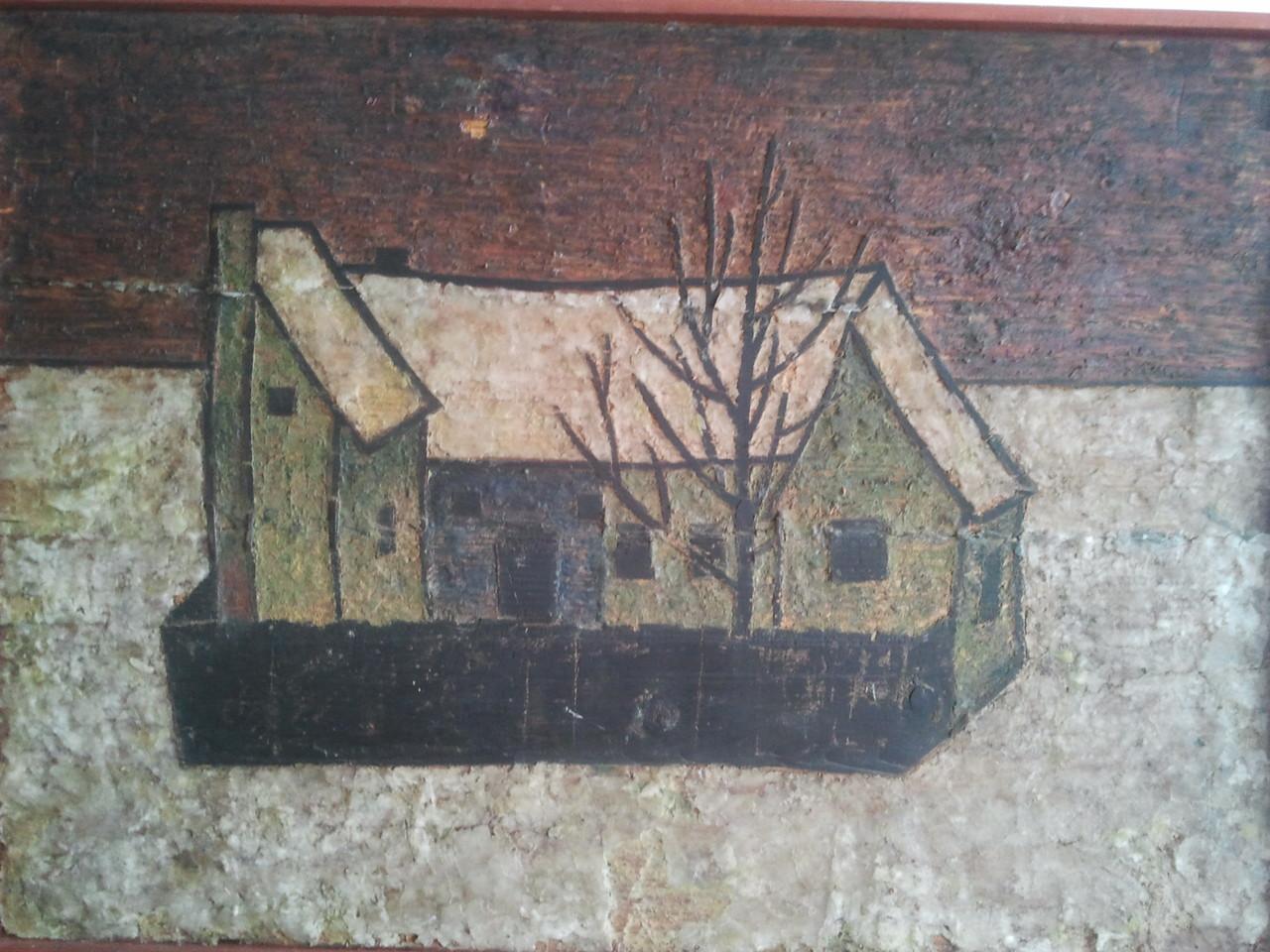 Vision II, Seestadt-Apern 1950, 1.Haus IQ 2012, Wachsenkaustik