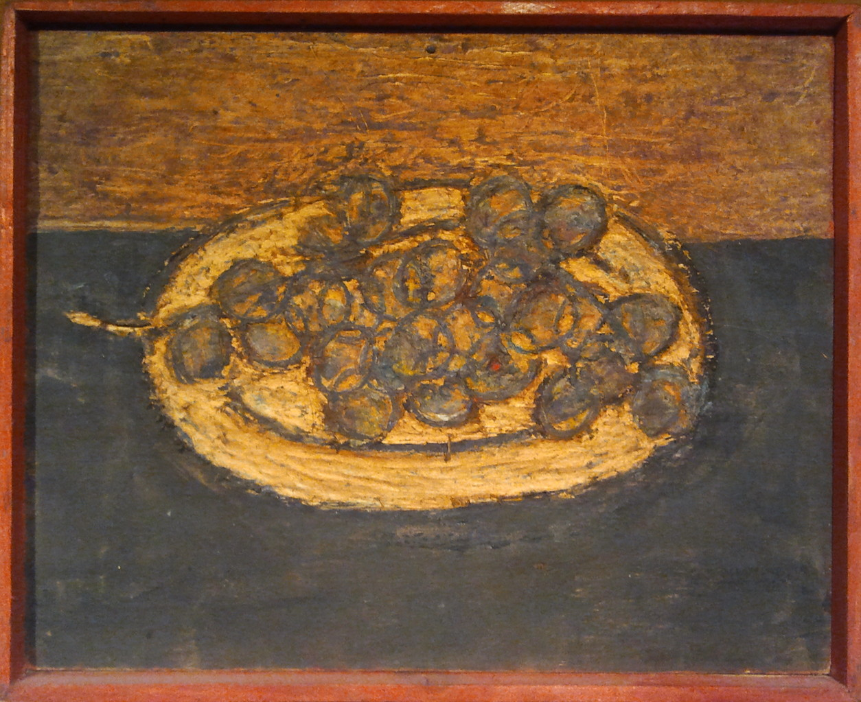 Weintrauben, Wachsenkaustik