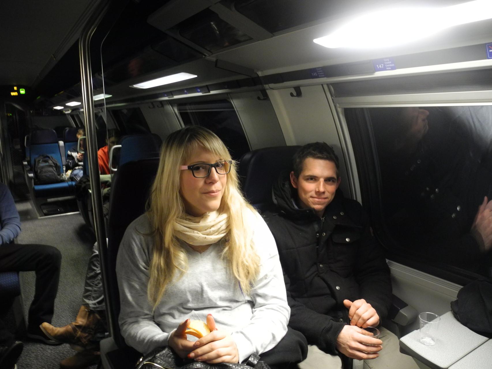 Bahnfahrt von Herzogenbuchsee nach Konstanz