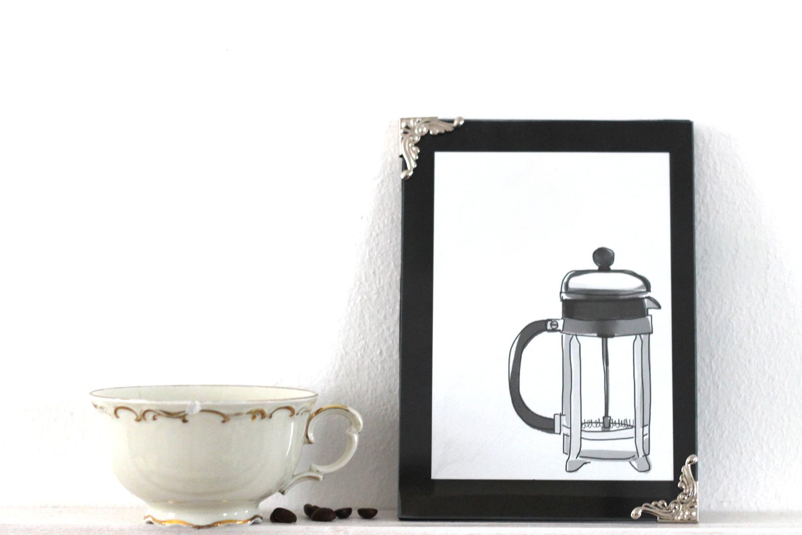 Kaffee Print Frenchpress