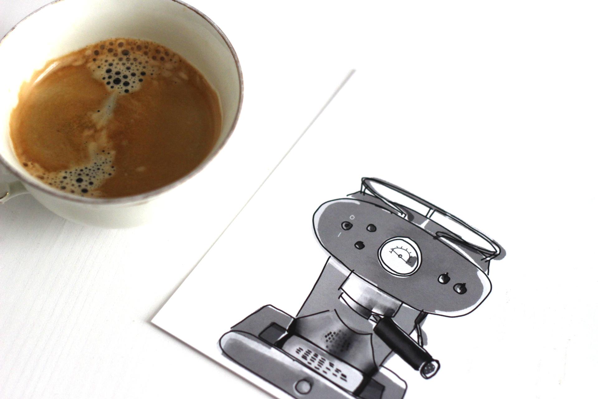 Coffee Print Siebträger