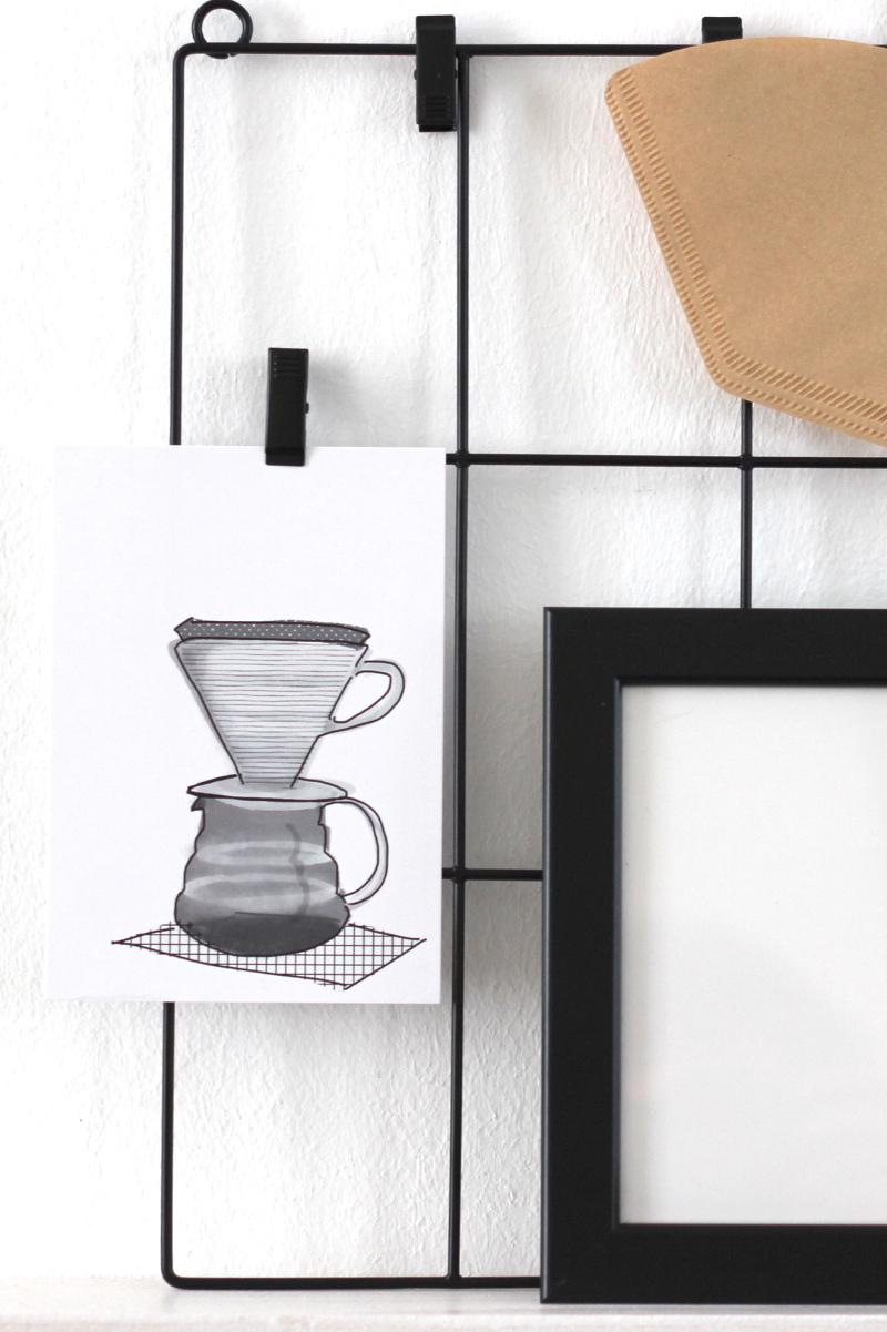 Coffee Print Handfilter