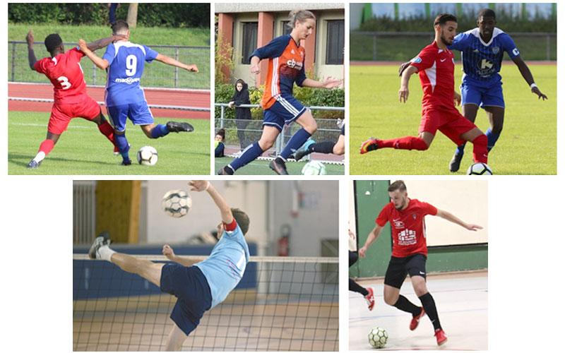 FOOTBALL (Noisy M, Torcy M, Val d'Europe F) - FUTNET (Emerainville M) - FUTSAL (Torcy M)