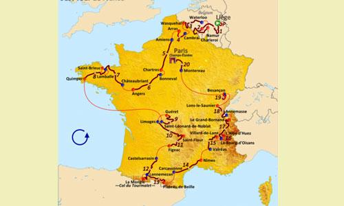 Le Tour de France à Marne-la-Vallée, c'était en 2004 !