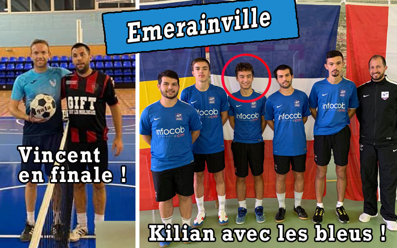 Emerainville - équipe de France U21 (Crédits : FFTB - MES Futnet)