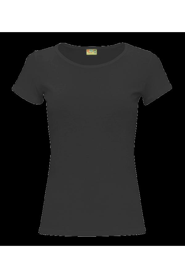женская черная футболка фото