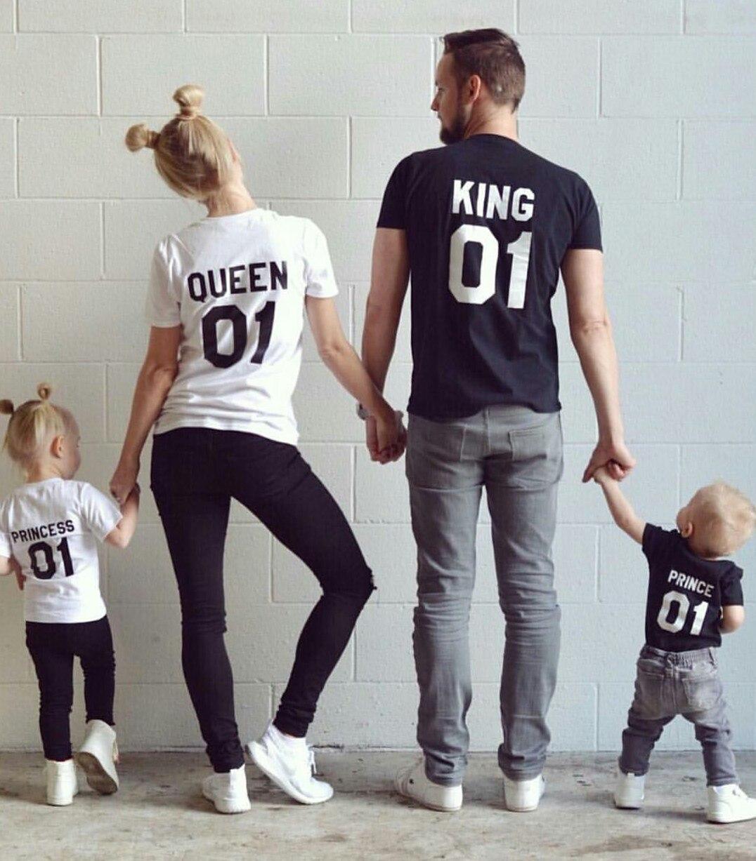 Именные футболки для всей семьи