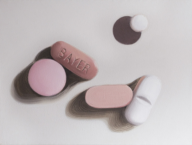 'Bayer I' 30x40cm oil on canvas, 2012