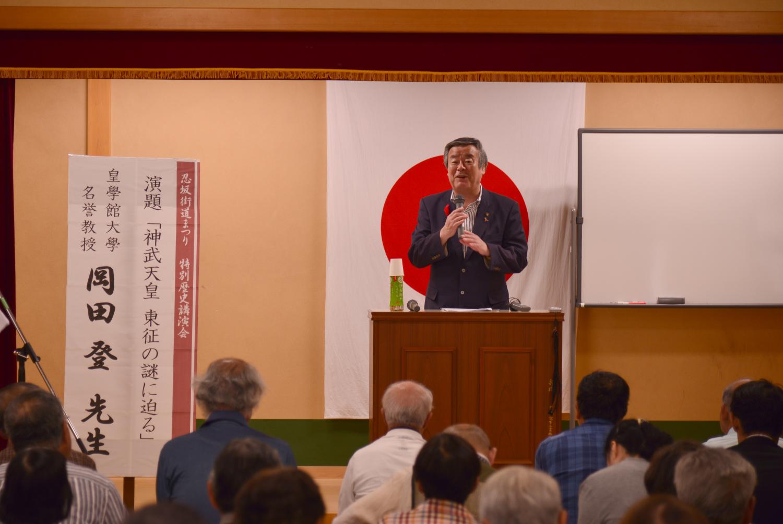松井・桜井市長のあいさつ