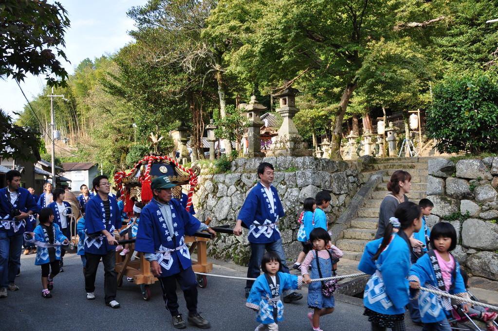 生根神社に戻ってきました・・・