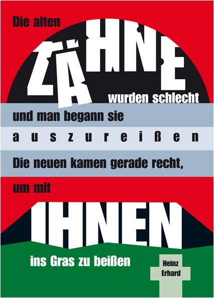 Gedichtbilder Gedichte Von Heinz Erhardt In Bildform