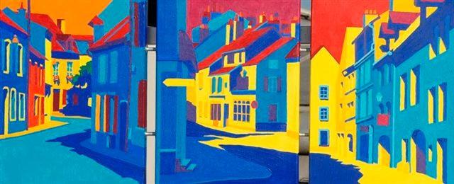 St. Jean de Losne/Gray/Dole 2005, 3x30x40cm