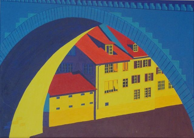 Bern, Matte, 2005, 50x100cm