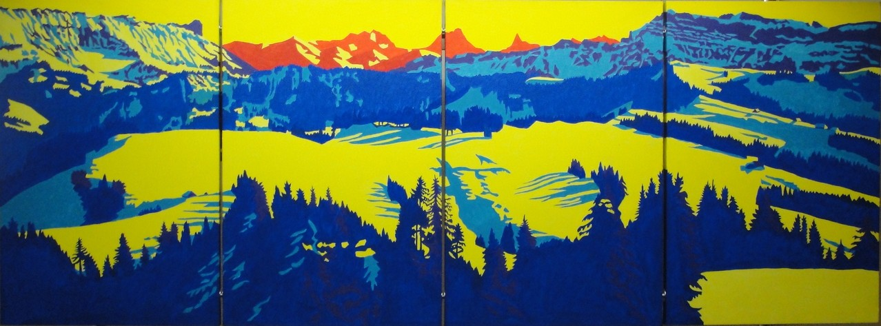Vom Pfyffer, 2013, 4x40x60cm
