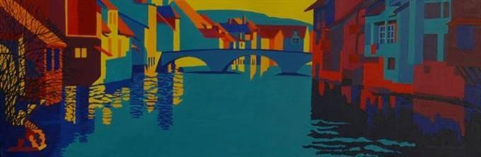 Ornans, 2006, 150x50cm