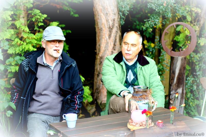 Herbstzauber: Der bunte Markt im kleinen Garten 2015 - Kaffeestunde