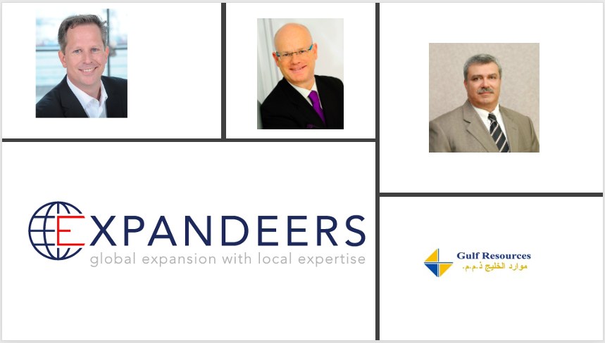 Expandeers partners with Gulf Resources LLC (Dubai)