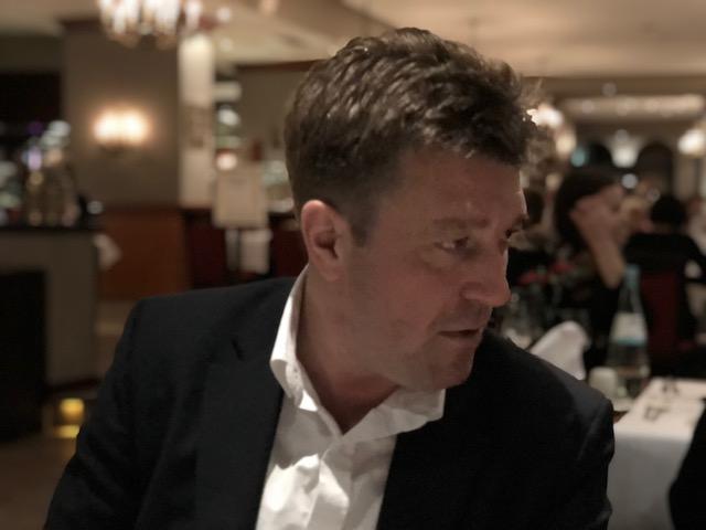 Niels Expandeers banquet dinner